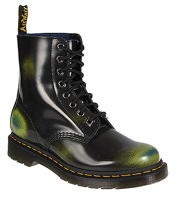 Dr Martens 1460 Arcadia Pascal Boots (Black/Green)