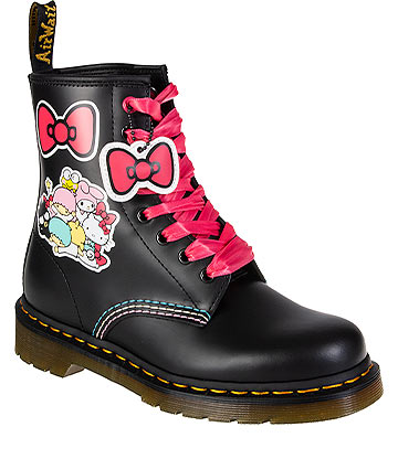 Dr Martens 1460 Hello Kitty & Friends Boots (Black)