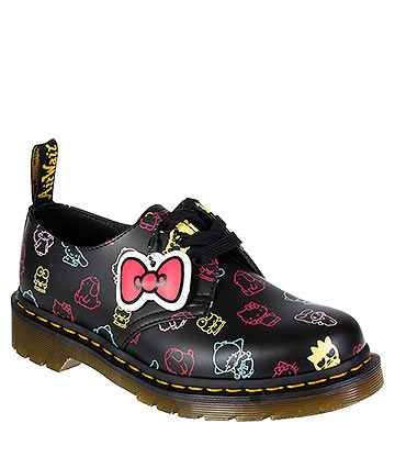 Dr Martens 1461 Hello Kitty & Friends Shoes (Black)