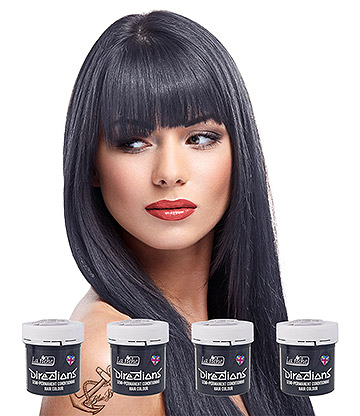 La Riche Directions Colour Hair Dye 4 Pack 88ml (Stormy Grey)