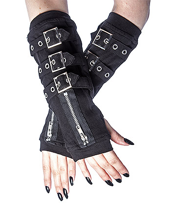 Poizen Industries Omega Arm Warmers (Black)