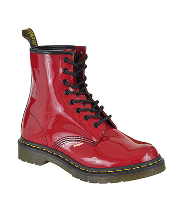 Dr Martens 1460 Boots (Patent Red)