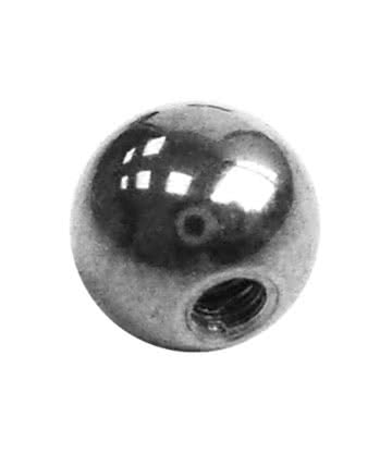 Polished Titanium Plain 5mm Ball