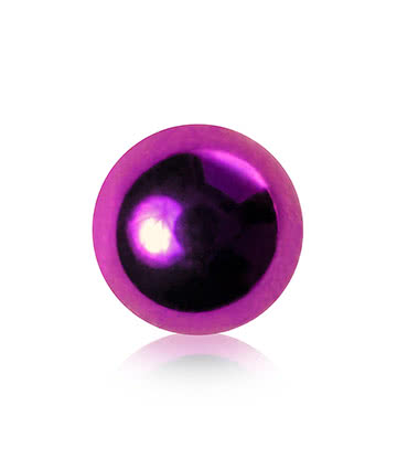 Blue Banana Surgical Steel 5mm Ball Add On Accessory (Purple)