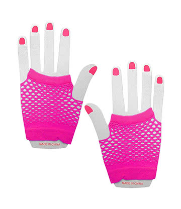 Panja Short Net Gloves (Pink)