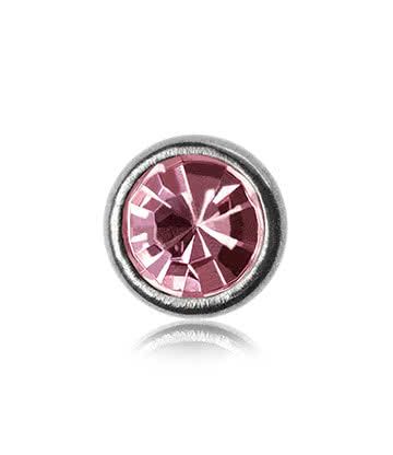 Blue Banana Polished Titanium 3mm Skin Diver (Rose)