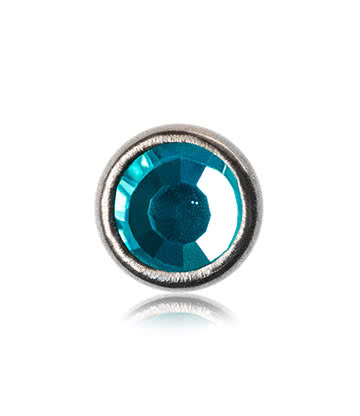 Blue Banana Polished Titanium 3mm Skin Diver (Aqua)