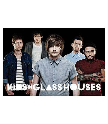 Official Kids In Glass Houses Poster (Multicoloured)
