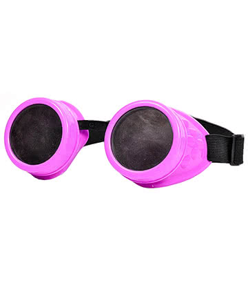 Steampunk Style Goggles (Pink)