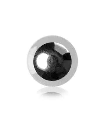 Blue Banana Surgical Steel 3mm Ball Add On Accessory (Silver)