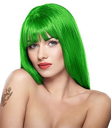 Stargazer Semi-Permanent Hair Dye 70ml (UV Green)