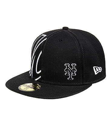 New Era New York Mets 59FIFTY Snapback Cap (Black)