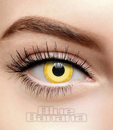Avatar 30 Day Coloured Contact Lenses (Yellow)