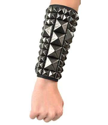 Bracciale File Studded Black Crucifix 11