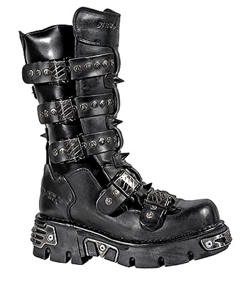 New Rock M.134-S1 Reactor Boots (Black)