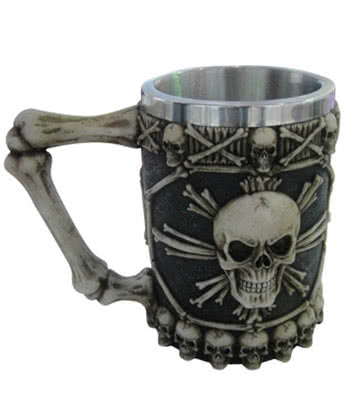 Nemesis Now Large Skulls Tankard