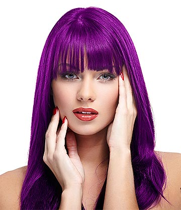 Manic Panic High Voltage Classic Cream Formula Colour Hair Dye 118ml (Purple Haze)