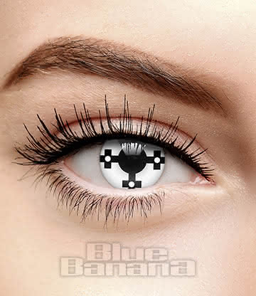 Templar 90 Day Coloured Contact Lenses (White)