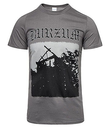 Official Burzum Aske T Shirt (Grey)
