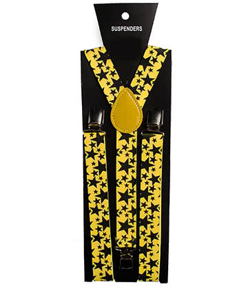 Blue Banana UV Star Braces (Yellow)