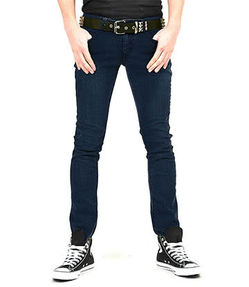 Bleeding Heart Skinny Fit Jeans (Indigo Navy)
