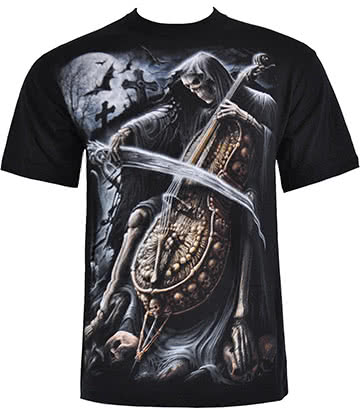 Spiral Direct Symphony Of Death T Shirt (Black)