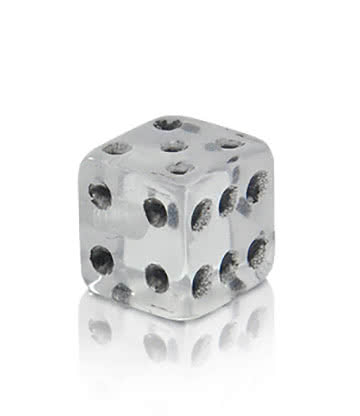 Novelty Dice 5mm Add On (Clear)