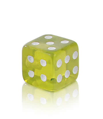Novelty Dice 5mm Add On (UV Yellow)