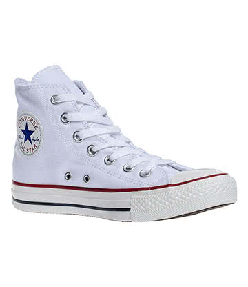 Converse All Star Hi Top Boots (Optical White)