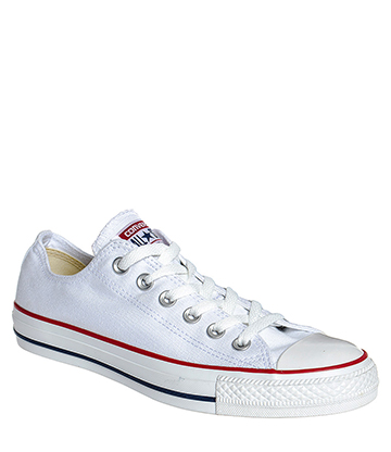 Converse All Star Ox Shoes (White)