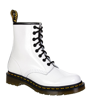 Dr Martens 1460 Boots (Patent White)