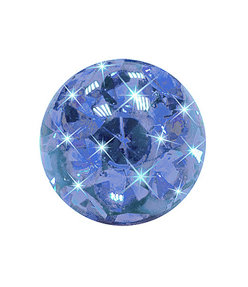 Crystal Ball Per Piercing 3mm (Calibro/Spessore) (Capri)
