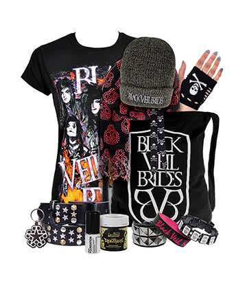 Official Black Veil Brides Fan Package (Womens)