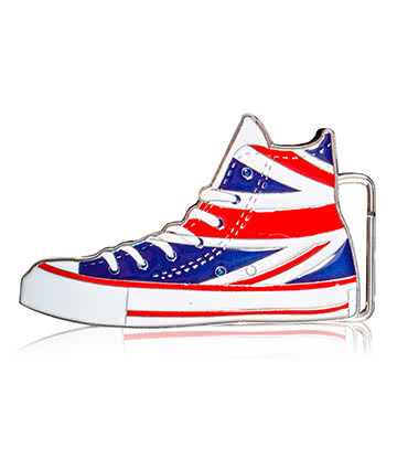 Hebilla Blue Banana Union Jack Boot