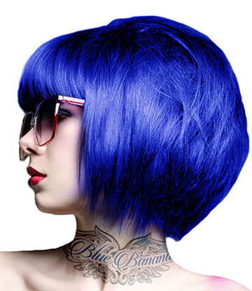 Crazy Color Semi-Permanent Hair Dye 100ml (Sky Blue)