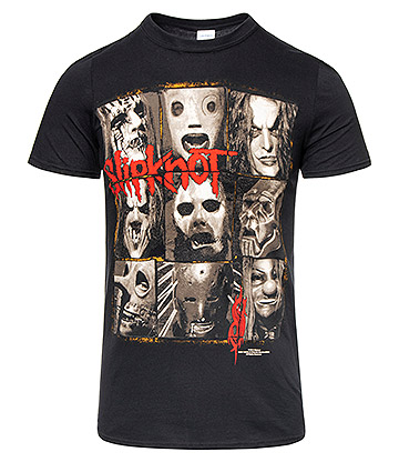 Official Slipknot Mezzotint Decay T Shirt (Black)
