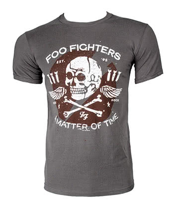 Official Foo Fighters Matter of Time T Shirt (Grey)