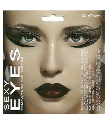 Stargazer Sexy Eyes Eye Tattoo (Stockings)
