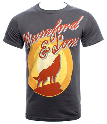 Official Mumford & Sons Hopeless T Shirt (Grey)