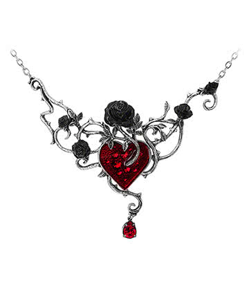 Alchemy Gothic Bed Of Blood Pendant