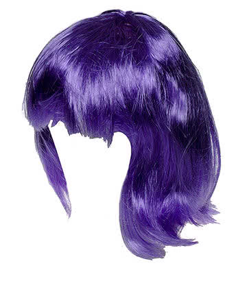 Blue Banana Layered Wig (Purple)