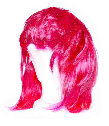 Blue Banana Layered Wig (Pink)