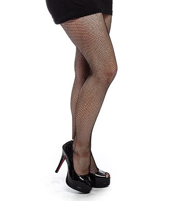 Blue Banana Small Fishnet Tights (Black)