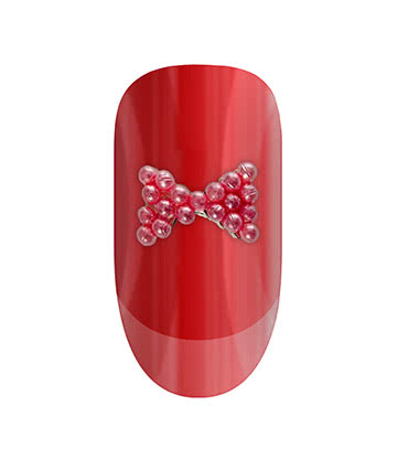 Blue Banana Nail Art 2PK (Pink Bow)
