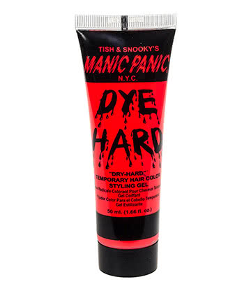 Manic Panic Dye Hard Temporary Hair Colour Styling Gels 50ml (Electric Lava)