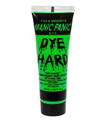 Manic Panic Dye Hard Temporary Hair Colour Styling Gels 50ml (Electric Lizard)