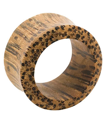 Blue Banana Wood Flesh Tunnel 3-24mm (Brown)