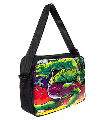 Marvel Comics The Incredible Hulk Messenger Bag (Multi-Coloured)