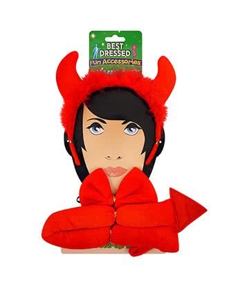 Blue Banana 3 Piece Devil Set (Red)