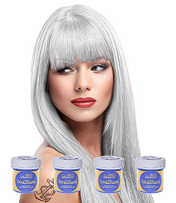 La Riche Directions Colour Hair Dye 4 Pack 88ml (White)